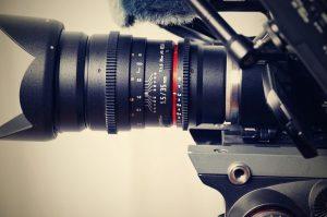 kręcenie produkcji filmowych