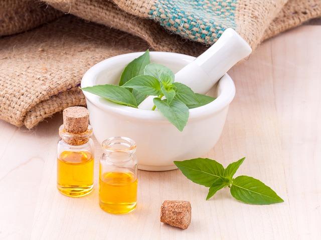 olejki i zioła do pielęgnacji skóry