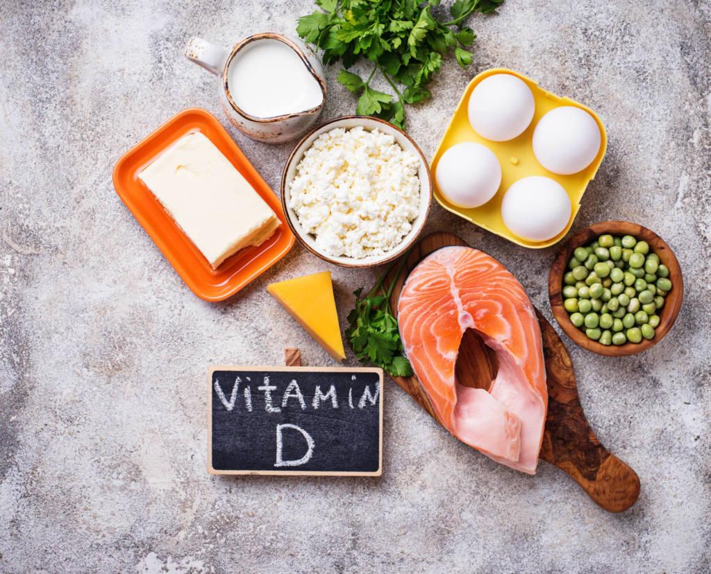produkty zawierające witaminę D